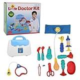 Doctor Playset, sin bordes afilados Real Appliance Doctor Tool Toy para bricolaje entre padres e hijos(13-piece doctor's tool set)