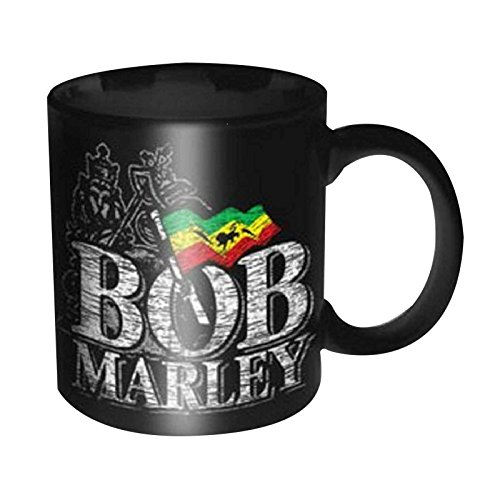 Bob Marley Distressed Logo een liefde nieuwe officiële Boxed Mok