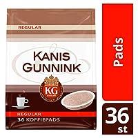コーヒーポッド | Kanis & Gunnink | レギュラーコーヒーポッド36個 | 総重量 250 グラム