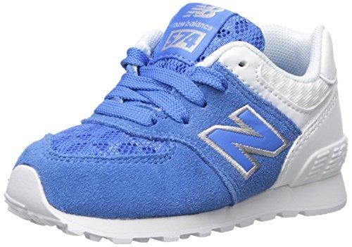 New Balance New Balance KL574V1 Infant Breathe Pack Fashion Sneaker (Infant/Toddler), Blue/Grey, 17 W EU