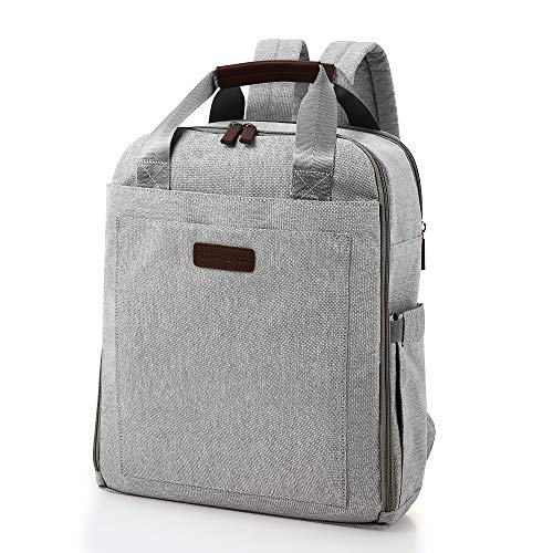 TOMSHOO Travel Laptop Backpack,Business Anti Theft Slim Durable Laptops Backpack,Water Resistant College School Computer Bag for Women & Men