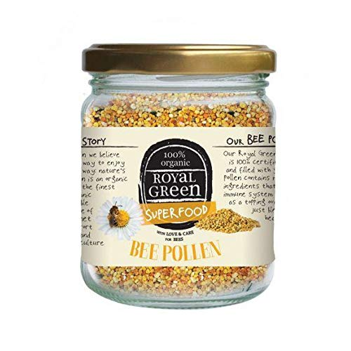 オーガニックビーポーレン(有機ミツバチ花粉)120g(非加熱)