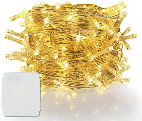 50/100/200/300/400/500 LED Alimentazione a Batteria Stringa Fata Luci di Natale Festa di Natale