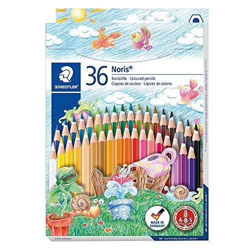 Staedtler 144ND36 Noris Club - Lápices de colores. Paquete de 36 unidades.