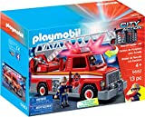PLAYMOBIL 5682 City Action Camion de Pompiers 13 pc