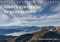 Oberbayerische Impressionen (Tischkalender 2022 DIN A5 quer): Brauchtum, idyllische Plaetze, stimmungsvolle Landschaften (Monatskalender, 14 Seiten )