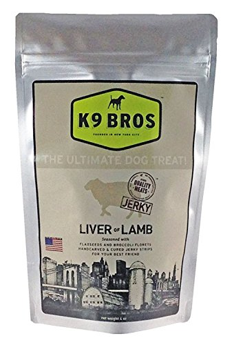 K9 Bros Liver of Lamb Dog Treats (1 Pack)