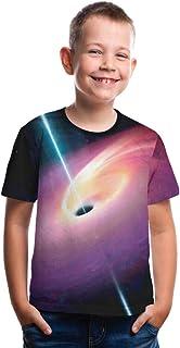 comprar comparacion Kaiyei Hombres y Mujeres Simple Dome tee Camiseta de Manga Corta Que Imprimen Camiseta Camiseta de Manga Corta Camiseta Bl...