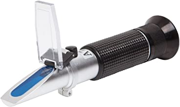 Brix Refractometer with ATC, Brix 0-32, Hydrometer in Wine Making, Homebrew Kit (0~32%)
