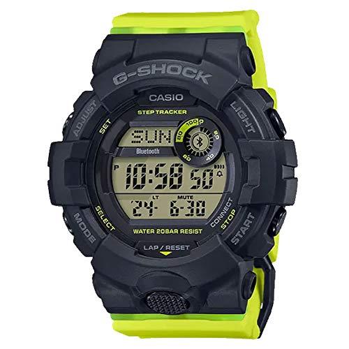 Casio GMDB800SC-1B G-Shock Women Women's Watch Yellow 50.7mm Resin