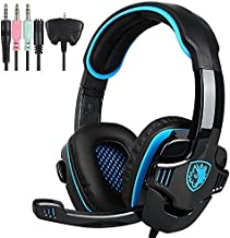 SADES SA708GT 3.5mm Wired Over Ear Stereo Gaming Headset with Mic Noise Isolating for..