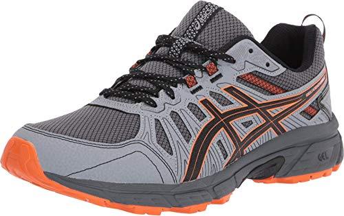 ASICS Men s Gel-Venture 7 Shoes  14  Carrier Grey/Habanero