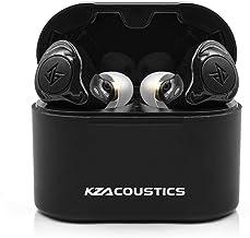 Linsoul KZ S2 1DD+1BA Hyrbid HiFi TWS Bluetooth 5.0 in Ear Monitors with Realtek 8763 Chip, AAC HiFi Transmission Support, CVC Noise Isolation (Black)
