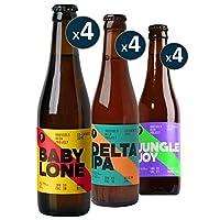 Bière de BELGIQUE Bière MIXTE Brasserie : BRUSSELS BEER PROJECT Emballage anti-casse BOX DECOUVERTE BRUSSELS BEER PROJECT - 4*3*33CL