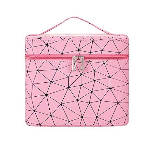 Boîte de Rangement Portable Simple Portable (Color : Pink, Taille : S)