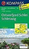 KOMPASS Wanderkarte Ostseefjord Schlei, Schleswig: Wanderkarte mit Radrouten und Reitwegen. GPS-genau. 1:35000 (KOMPASS-Wanderkarten, Band 708) - KOMPASS-Karten GmbH
