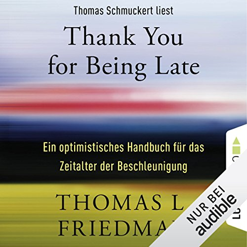 Thank You for Being Late Titelbild