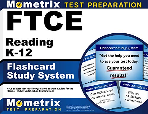 FTCE Reading K-12 Flashcard Study System: FTCE Test Practice Questions & Exam Review for the Florida