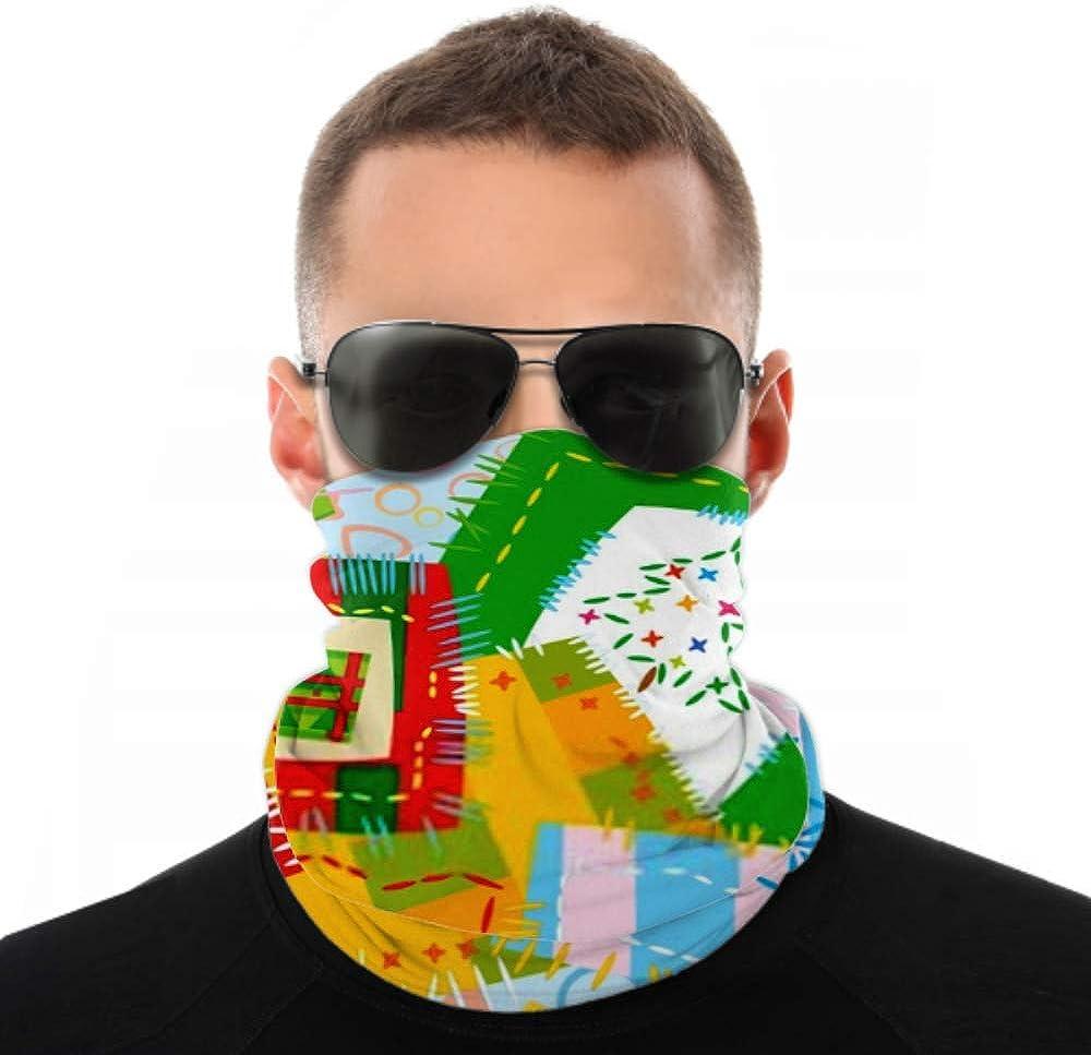 Headbands For Men Women Neck Gaiter, Face Mask, Headband, Scarf Christmas Background Turban Multi Scarf Double Sided Print Face Mask Bandana For Sport Outdoor