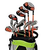 DROC - Nikki Series 13 Pieces Golf Club Set & Golf Bag Ages 11-14 Right Handed
