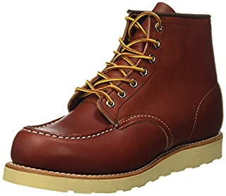 "Red Wing Shoes Men's 6"" Classic Moc Boot,Oro-Russet Portage,8.5 D(M) US (B002GD8JIY) 