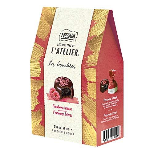 Nestlé Les Recettes de L'Atelier Bolsa de Bombones Frambuesa 158g - Pack de 12