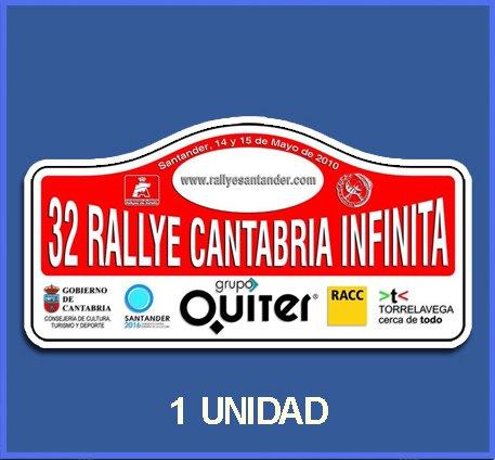 Ecoshirt Q3-SOYT-V0V4 Pegatinas Stickers Cantabria Infinita 2010 Dp554 Aufkleber Autocollants Adesivi Car Decals Rally Rallies