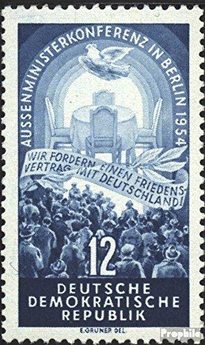 Prophila Collection DDR 424Y II (kompl.Ausg.) seltenes Wasserzeichen 1954 Viermächtekonferenz in Berlin (Briefmarken für Sammler)