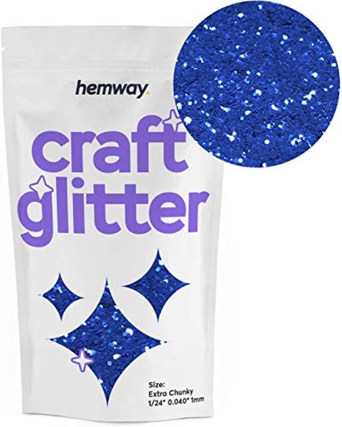 Hemway Craft Glitter 100g 3.5oz Extra Chunky 1/24