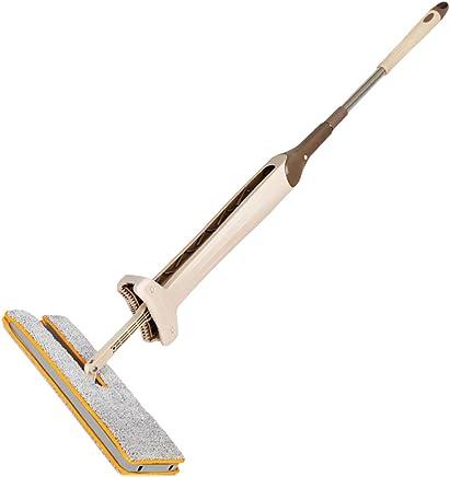 Baskciry Lazy Mop 360 grados centrifugado piso limpieza automática Squeeze doble cara para salón cocina