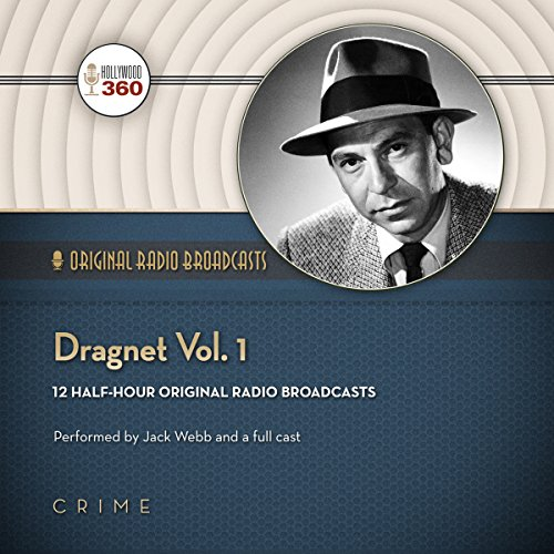 Dragnet, Vol. 1 audiobook cover art