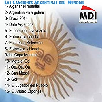 Las Canciones Argentinas del Mundial