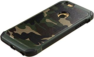 FDTCYDS iPhone 7 Plus case Shockproof Hybrid Rugged Camouflage Case for Apple iPhone 7 Plus - Camo Green (5.5-inch)