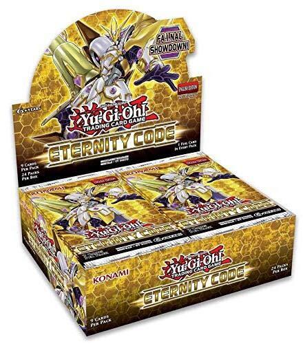 Yu-Gi-Oh! Eternity Code Booster Pack Display Box (24) KON84825