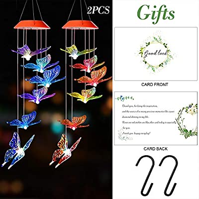 SIX FOXES Solar Wind Chimes