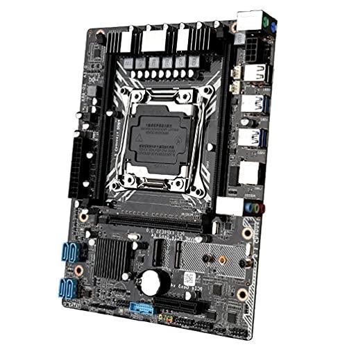 GHBOTTOM Placa Base X99 GT Placa Base para computadora DDR4 Escritorio con Placa Base Xeon E5 USB3.0 NVME M.2 SSD Soporte WiFi x99 Placa Base lga 2011-v3 ddr4 Combo Gigabyte