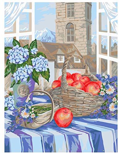 DQ7W5AF Klassisches Puzzle 1000 Stück Tischdecke Pple Blumen Landschaft Unterhaltung Kann Aufgehängt Werden