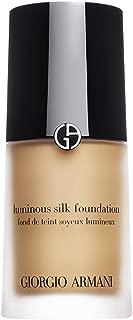 Giorgio Armani Luminous Silk Foundation, No.8 Caramel, 1 Ounce