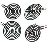 APPLIANCEMATES MP22YA(MP21YA&MP15YA)Electric Range Burner Element Unit Set Compatible with Whirlpool Electric Range Stove Burners Replace 540331014 484783 TS5W8221 Y04000033