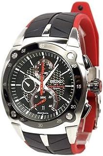 Seiko - Sportura - Reloj de Caballero de Cuarzo, Correa de Acero Inoxidable Color