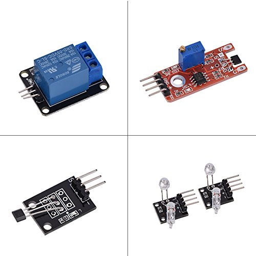 Surebuy Kit De Módulo De Sensor, Módulo De Sensor 37 En 1 Conjunto De Módulo De Sensor Estable para/Education
