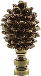 Pine Cone Lamp Shade Finial 2.5