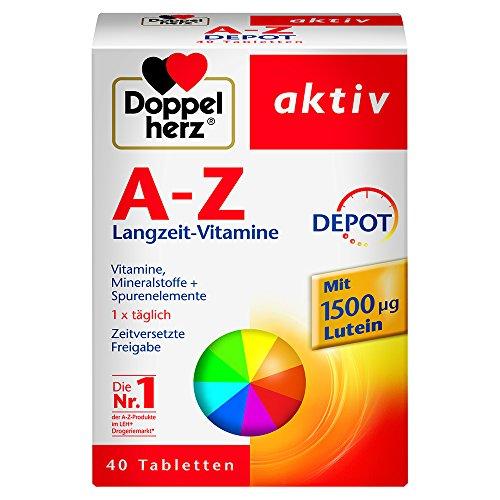 Doppelherz A-Z DEPOT Langzeit-Vitamine, 40 Retard-Tabletten