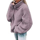 Mujer Jersey de Punto Primavera Suéter de Espalda de Las Mujeres Knit del Batwing Oversize Ancho Tejer Sueter...