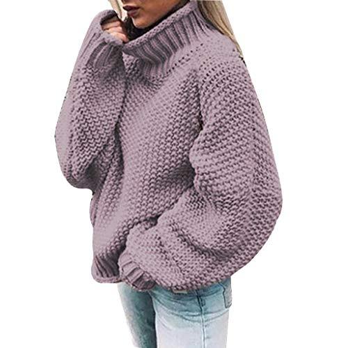 Mujer Jersey de Punto Primavera Suéter de Espalda de Las Mujeres Knit del Batwing Oversize Ancho...