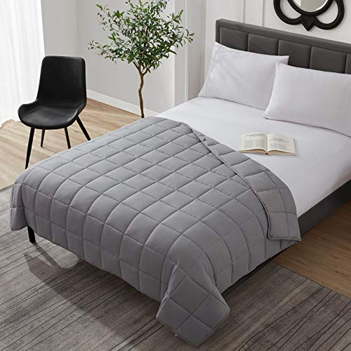 Weighted Blanket Cooling Breathable Heavy Blanket Comforter Microfiber Material with