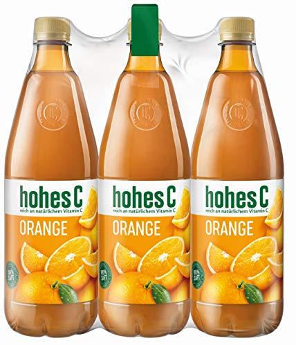 bester Test von berchtesgadener land milch Hi-C Orange-100% Saft, 6 Beutel (6 x 1 l)