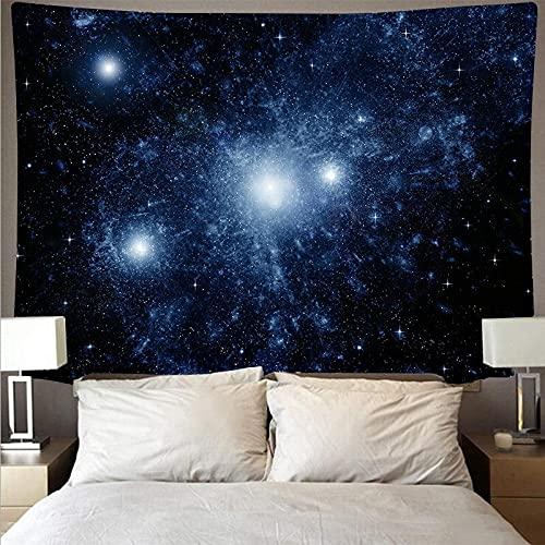 Tapiz de pared de nebulosa decoración bohemia estilo nórdico sala de estar dormitorio decoración del hogar Fondo de pared tela colgante A1 150x200cm