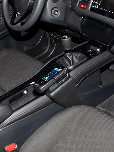 KUDA 2340 Halterung Echtleder schwarz für Honda HR-V (2. Gen) ab 2015