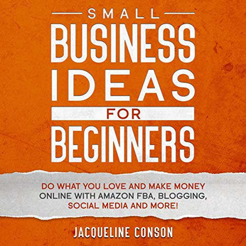 Small Business Idea for Beginners cover art